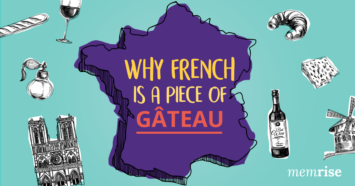 Why French is much easier to learn than English - Memrise